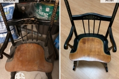 Chair-Furniture-Painting-Hand-Gilding-Gold-Leaf-Black-Lacquer-Restoration-Refinishing-Chair-Details-Antique