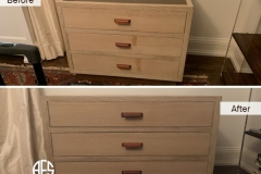 Furniture-Bedroom-Nightstand-Drawer-chest-front-wax-stain-liquid-damage-repair-clean-finish-restoring-refinishing-paper-veneer