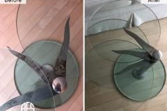 Furniture-Glas-Chrome-Acrylic-Lucite-polish-glue-intall-weld