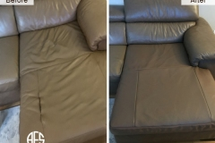 Furniture-seat-leather-vinyl-repair-partial-upholstery-change-restore-damaged-seam-stitch-connection-half