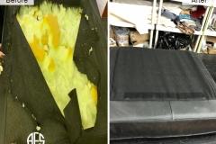 Furniture-sofa-chair-seat-cushion-deck-velcro-padding-animal-dog-damages